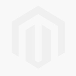 Bumpy White 3 Wick Moving Flame LED Candle 6in by 6in
